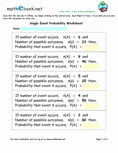 Probability Worksheet with Answers Luxury Myspanishlab Answer Key to Sam Activities Pdf