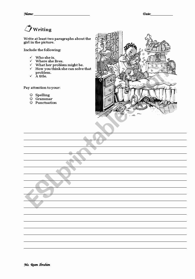Problem and solution Worksheet Fresh Problem & solution Esl Worksheet by Rommaya