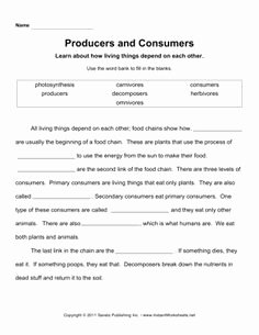 Producer Consumer Decomposer Worksheet Inspirational Life Processes and Living Things Including Micro organisms