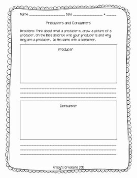 Producers and Consumers Worksheet Awesome 17 Best Images About Producers and Consumers On Pinterest