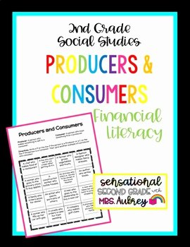 Producers and Consumers Worksheet Awesome Producers and Consumers Worksheet 2nd Grade social
