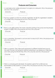 Producers and Consumers Worksheet Elegant 2nd Grade social Stu S Worksheets Pdf