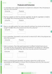 Producers and Consumers Worksheet Elegant 2nd Grade social Stu S Worksheets Pdf