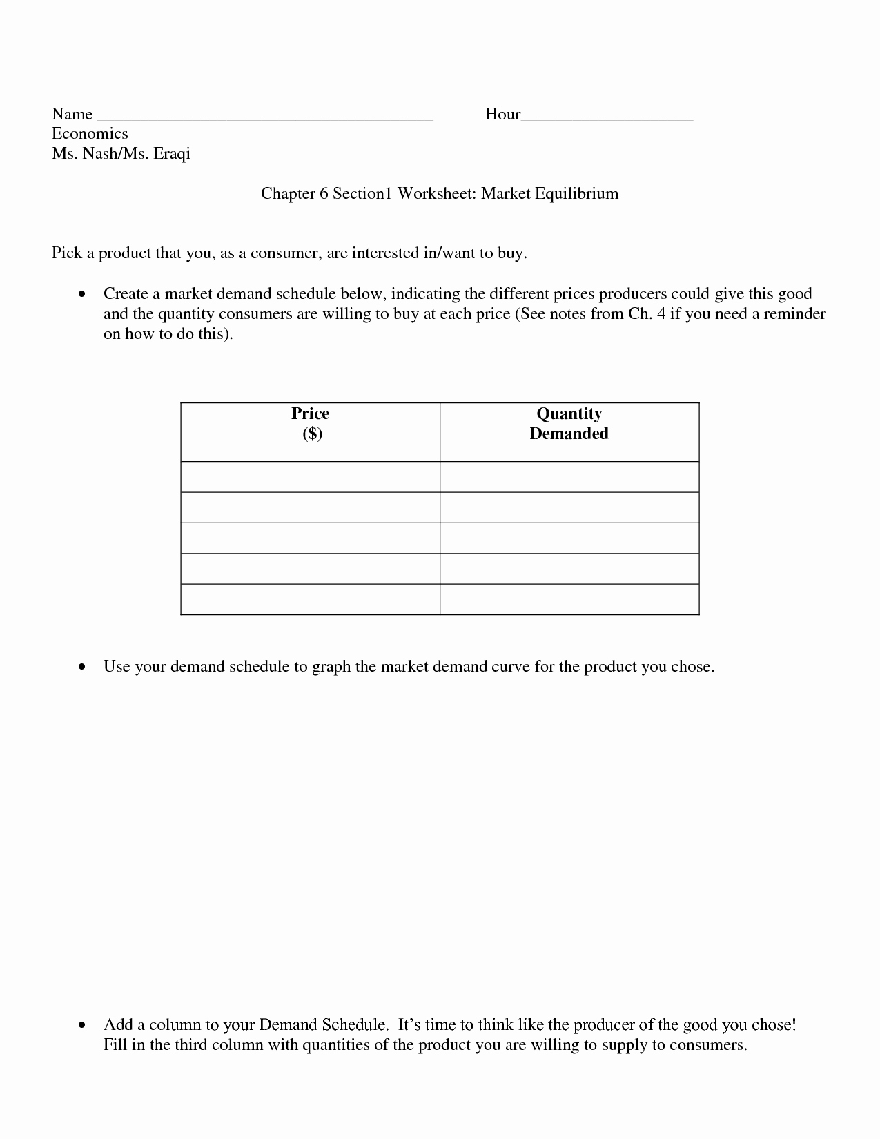 Producers and Consumers Worksheet Fresh 13 Best Of Economics Activity Worksheets Supply