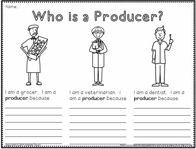 Producers and Consumers Worksheet Unique What is A Munity Pack Created to Help Primary
