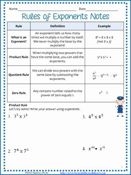Product and Quotient Rule Worksheet Inspirational This Two Page Outline Focuses On the Product Rule