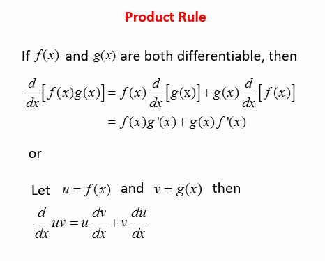 Product and Quotient Rule Worksheet Unique Calculus Product Rule solutions Examples Videos