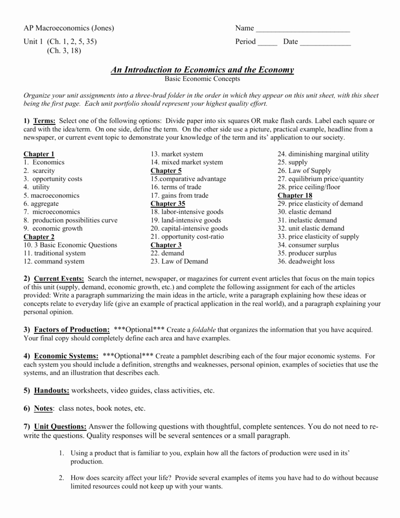 Production Possibilities Curve Worksheet Answers Inspirational Section 2 Opportunity Cost Worksheet Answers
