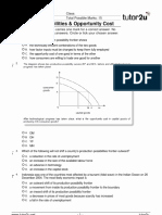 Production Possibilities Frontier Worksheet New Production Possibilities Frontier – Worksheet