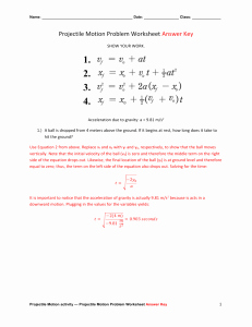 Projectile Motion Worksheet Answers Fresh Studylib Essys Homework Help Flashcards Research