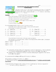 Projectile Motion Worksheet with Answers Beautiful Line Phet Lab Projectiles Worksheet 1 Name