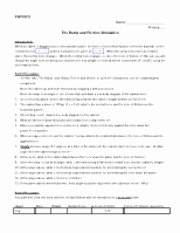 Projectile Motion Worksheet with Answers Best Of Line Phet Lab Projectiles Worksheet 1 Name