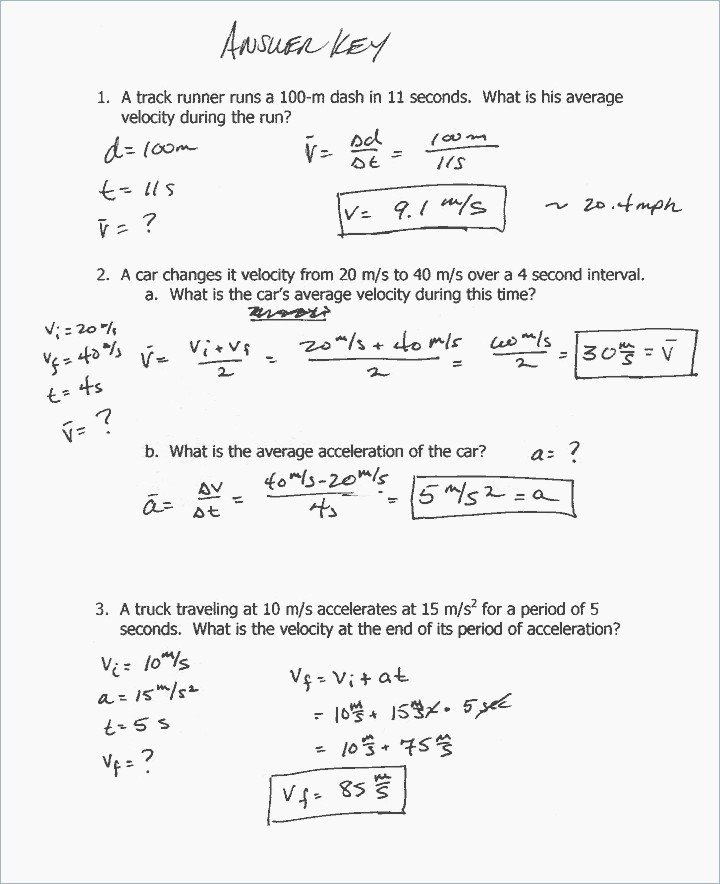 Projectile Motion Worksheet with Answers Unique Projectile Motion Problems Worksheet the Best Worksheets
