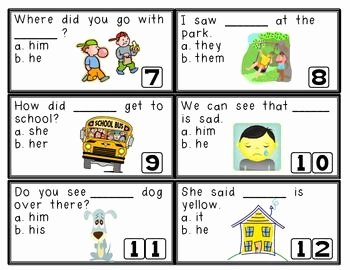 Pronoun Verb Agreement Worksheet Best Of Scoot Subject Verb Agreement & Pronouns