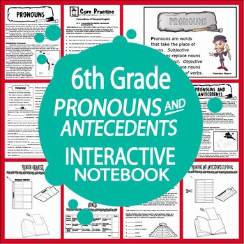 Pronouns and Antecedents Worksheet Elegant Pronouns and Antecedents Activities Lesson and Seven