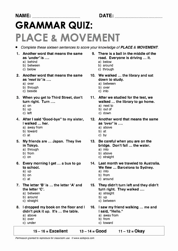 Pronouns and Antecedents Worksheet New Pronoun Antecedent Agreement Quiz