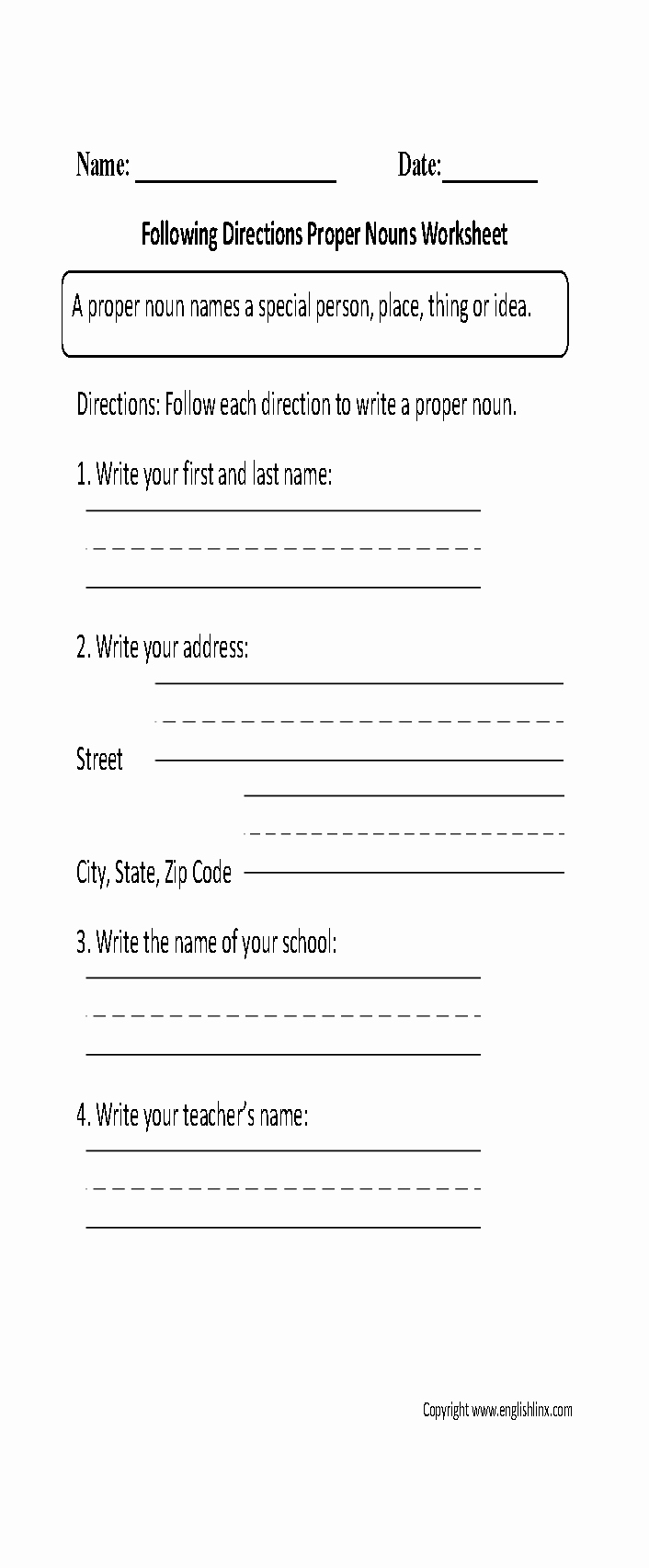 Proper Nouns Worksheet 2nd Grade Awesome 17 Best Of Prefixes and Suffixes Worksheets 4th