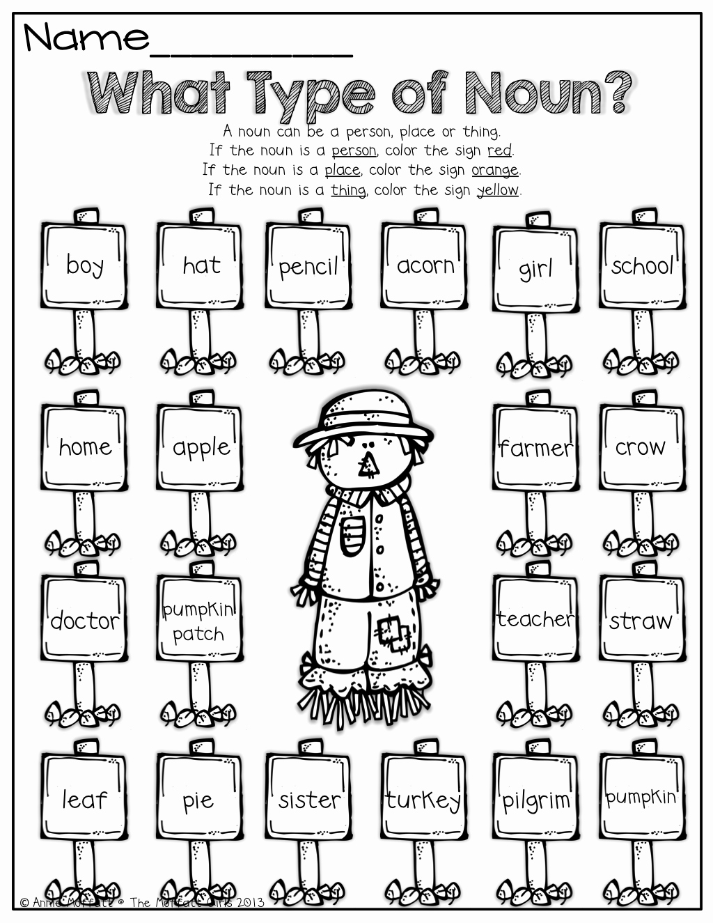 Proper Nouns Worksheet 2nd Grade Best Of Nouns Proper and Mon …