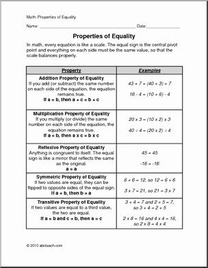 Properties Of Equality Worksheet Best Of 12 Best Of Equality Property Addition Worksheets