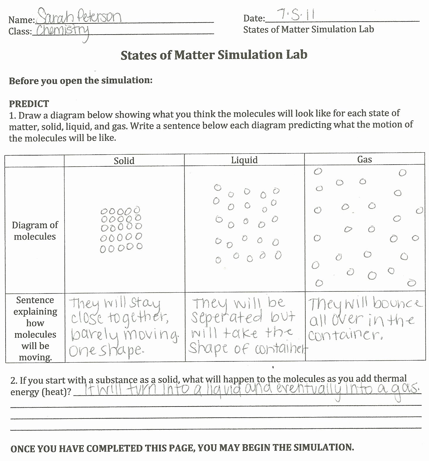 Properties Of Matter Worksheet Answers Luxury Properties Matter Worksheet Answers the Best Worksheets