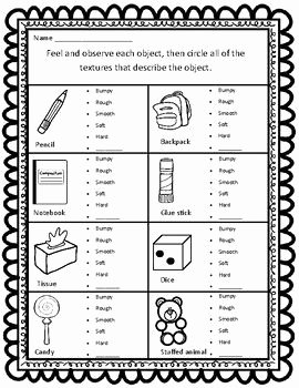Properties Of Matter Worksheet Best Of sort by Property Texture Ccss Aligned Worksheets