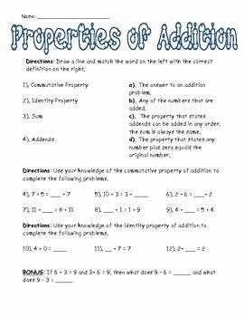 Properties Of Numbers Worksheet Elegant associative Property Multiplication Worksheets 4th