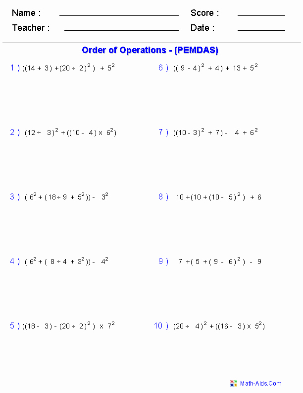 Properties Of Operations Worksheet Fresh Algebra 1 Worksheets
