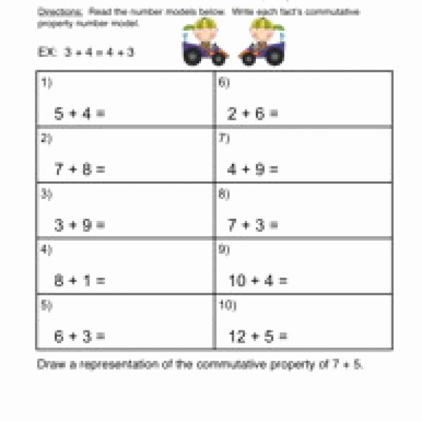 Properties Of Operations Worksheet Lovely 55 Properties Operations Worksheet Properties