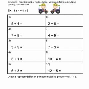 Properties Of Operations Worksheet New Properties Of Math Worksheet