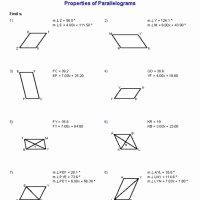 Properties Of Parallelograms Worksheet Luxury Periodic Table Basics Worksheet Answers