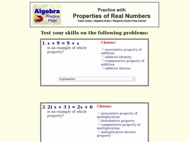 Properties Of Real Numbers Worksheet Luxury Real Numbers Practice with Properties Worksheet for 9th