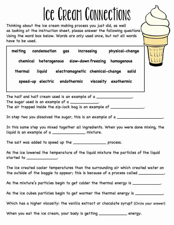 Properties Of Water Worksheet Answers New Properties Water Worksheet