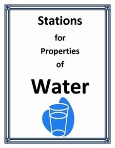 "Properties Of Water Worksheet Biology Lovely Free Science Lesson ""properties Of Water Surface"