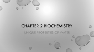 Properties Of Water Worksheet Biology New Properties Of Water Worksheet