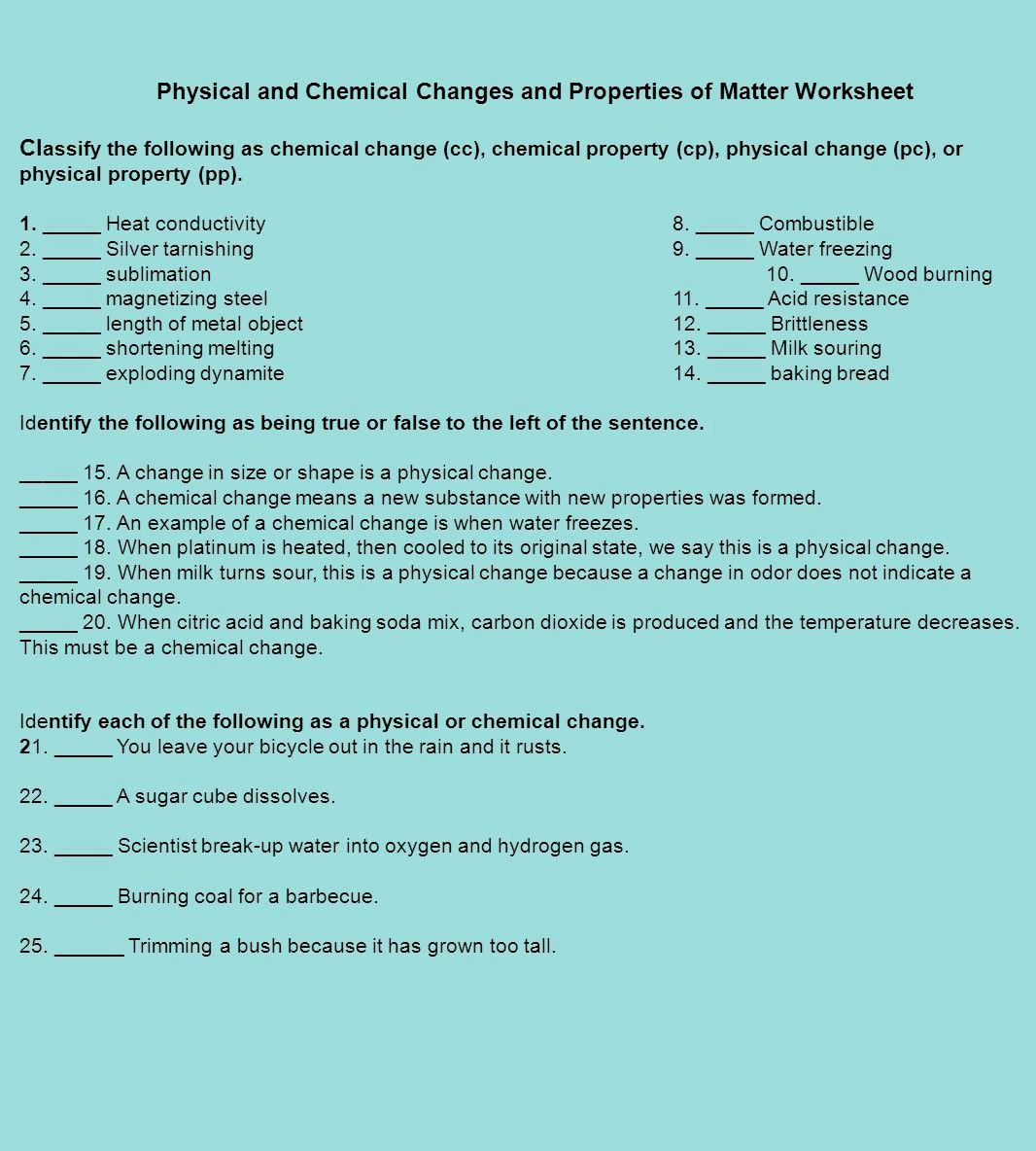 Properties Of Water Worksheet Lovely Physical Properties Water Worksheet