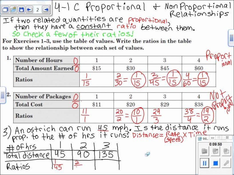 Proportional and Nonproportional Relationships Worksheet Fresh Proportional and Nonproportional Relationships Worksheet