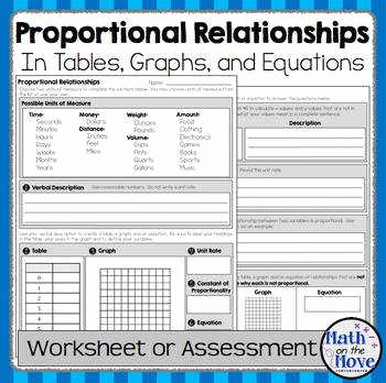 Proportional and Nonproportional Relationships Worksheet New Proportional Relationship Worksheet