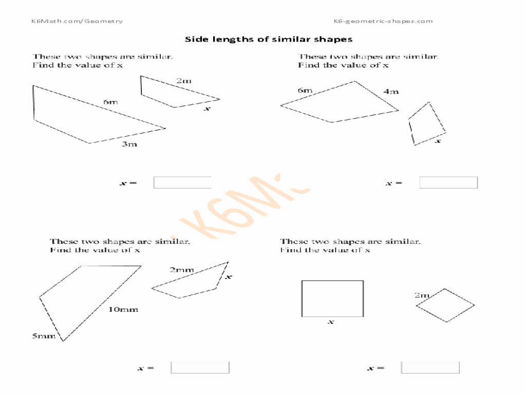 post similar figures worksheets 7th grade