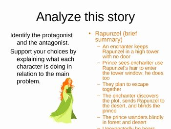 Protagonist and Antagonist Worksheet Inspirational Protagonist and Antagonist Lesson and Practice by