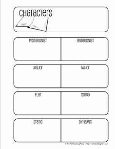 Protagonist and Antagonist Worksheet Lovely 1000 Images About Antagonist Vs Protagonist On Pinterest