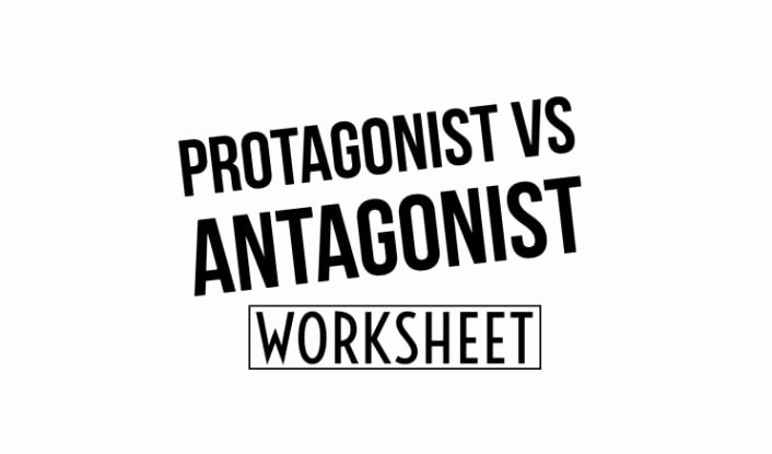 Protagonist and Antagonist Worksheet Luxury Protagonist Vs Antagonist Worksheet