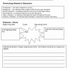 Protagonist and Antagonist Worksheet Luxury This Worksheet Teaches Character Terms Antagonist