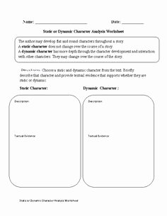 Protagonist and Antagonist Worksheet New Character Notebooking Pages who S the Protagonist