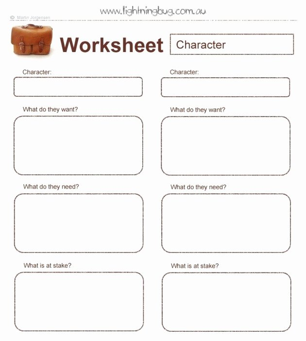 Protagonist and Antagonist Worksheet New Nenapagsiat