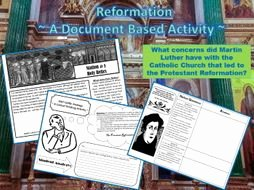 Protestant Reformation Worksheet Answers New Protestant Reformation What Were Luther S Arguments In