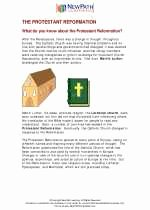 Protestant Reformation Worksheet Answers Unique the Protestant Reformation social Stu S Worksheets and