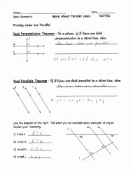 Proving Lines Parallel Worksheet Awesome Proving Lines Parallel Worksheet C