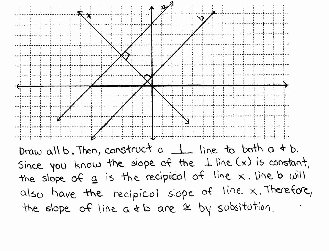 Proving Lines Parallel Worksheet Elegant Proving Slope Criterion for Parallel Lines E