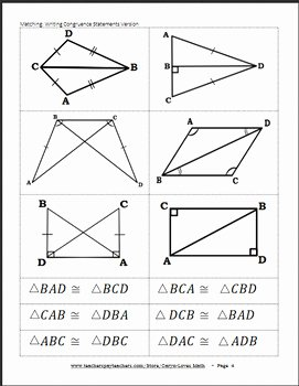 Proving Triangles Congruent Worksheet Lovely Congruent Overlapping Triangles Worksheet Breadandhearth