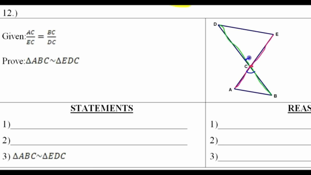 Proving Triangles Similar Worksheet Elegant Day 6 Hw 10 to 12 Similar Triangle Word Problems and